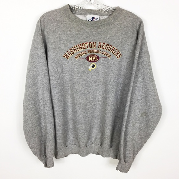 426f40a2 Vintage NFL Washington Redskins Gray Sweatshirt L